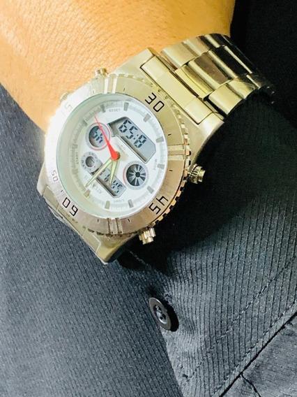 Relógio Masculino Atlantis Analógico Digital G3211 Original