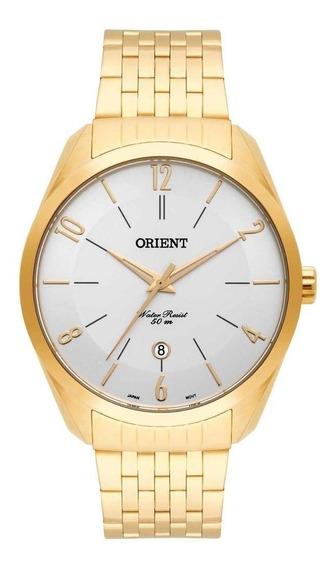 Relógio Orient Analógico Masculino Mgss1133 S2kx Dourado