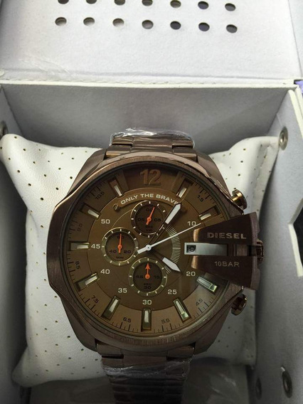 Relógio Diesel V724 Dz 7316 Mr Daddy Marron Garantia Barato
