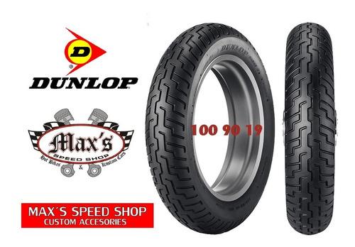Cubierta Dunlop Moto 100/90-19 Harley Sportster Dyna Maxspee