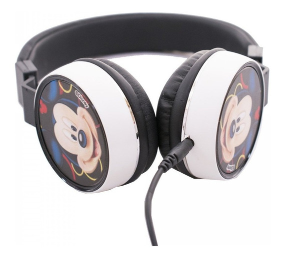 Fone De Ouvido Headphone Do Michey Mouse Licenciado Disney