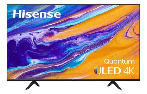 """Imagen 1 de 5 de Smart TV Hisense U6G Series 50U6G ULED 4K 50"""" 120V"""