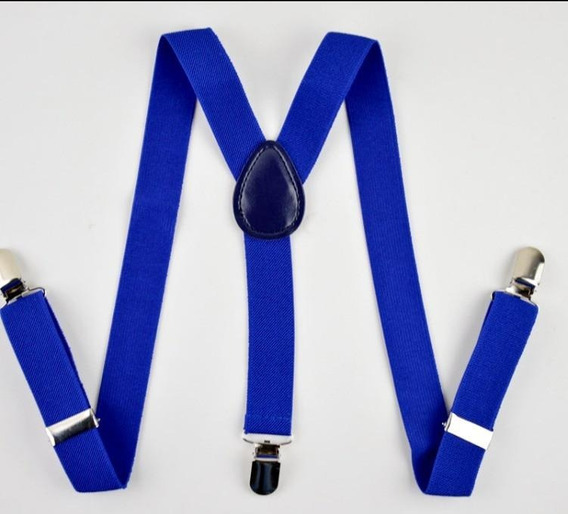 Tirantes Suspenders Unisex De Vestir Varios Colores