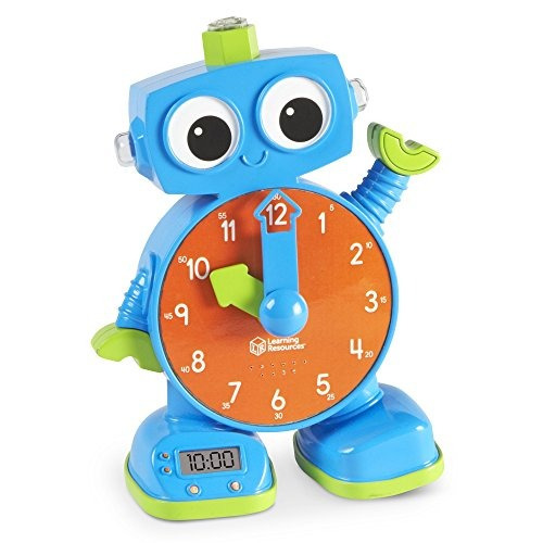Learning Resources Tock El Reloj De Aprendizaje