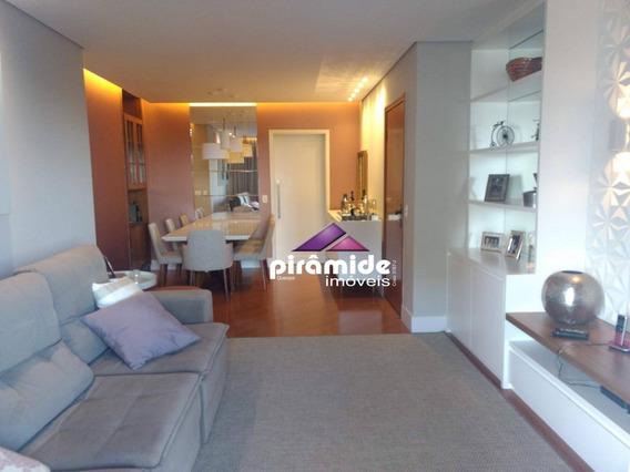 Apartamento Com 4 Dormitórios Para Alugar, 127 M² Por R$ 3.400,00/mês - Vila Ema - São José Dos Campos/sp - Ap10414