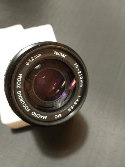 Lente Vivitar Zoom 70 - 210 Mm 1:4.5-5.6. Para Pentax K1000.