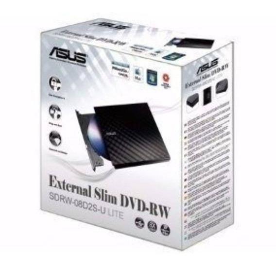 Leitor Dvd Externo Gravador Dvd-rw Cd Usb Portatil D2