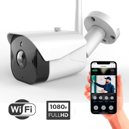 Cámara Wifi Ip Full Hd 1080p Sinovision Exterior Audio Mic