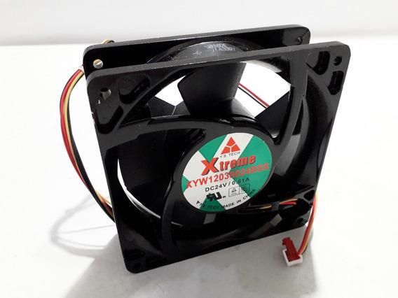 Ventilador Xtreme Xyw12038024bss 120x120x38 24v 0.61a