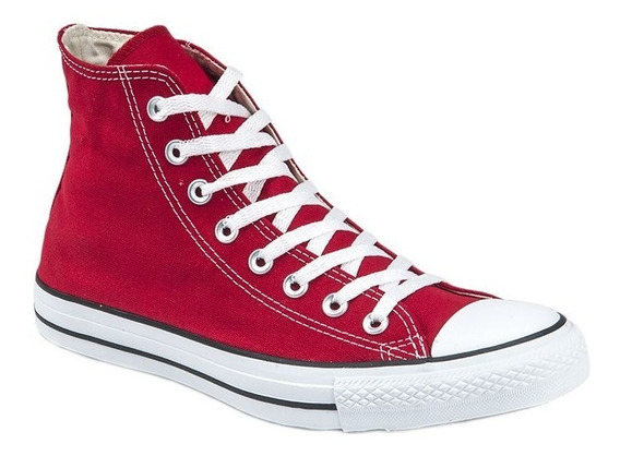 Botitas Converse All Star Rojo Blanco Niño Exclusivas