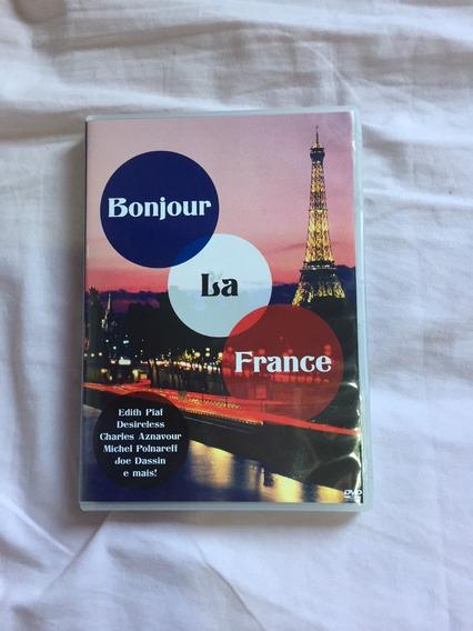 Dvd Bonjour La France (edith Piaf, Charles Aznavour...)