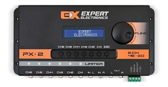 Processador Expert Px2 Limiter 6 Ch Px-2 Equalizador Banda