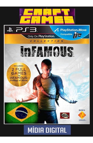 Infamous Collection Ps3 Psn Digital Game Pt-br