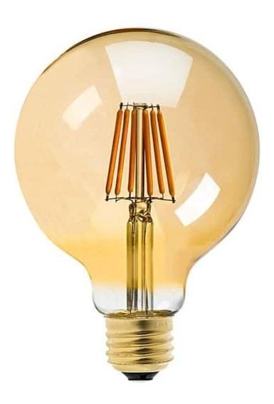 Lâmpada Filamento Led Ballon G80 Retrô 4w Vintage
