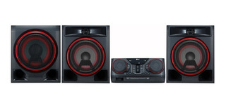Mini Componente Ck57 Lg Iluminación Multicolor Karaoke
