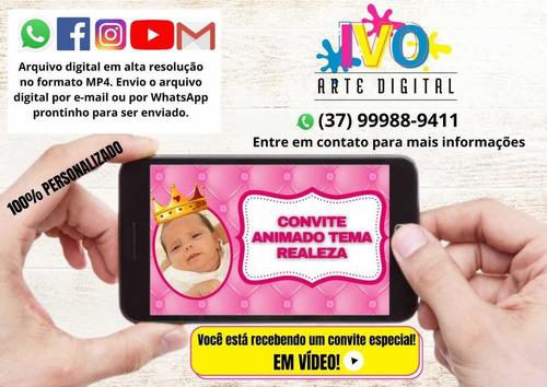 Convite Animado Em Vídeo