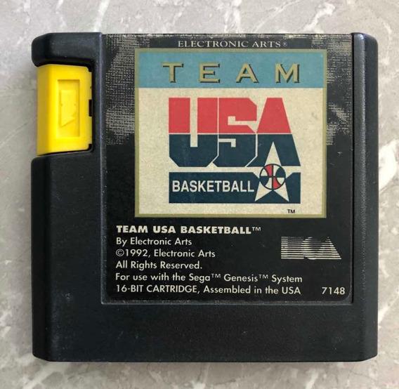 Team Usa Basketball - Mega Drive/genesis