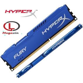 Memória 8gb 1600mhz Ddr3 Kingston Hyperx Fury Azul Pc Gamer