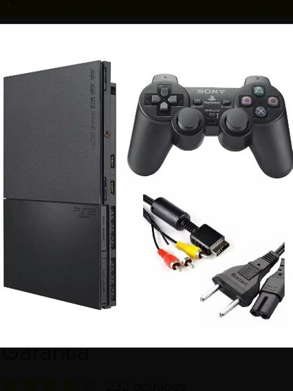 Playstation 2, 2 Controles, Memory Card + Brinde