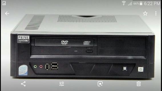Cpu Prime Core 2 Duo 3ghz 2gb Ram, 160 Gb Hdd, Dvd/cd