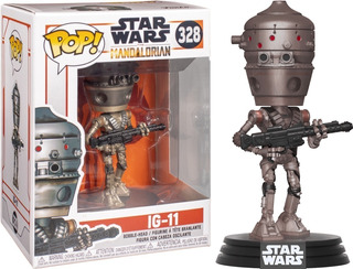 Funko Pop Original Star Wars The Mandalorian Robot Ig-11