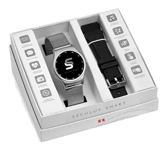 Relógio Unissex Seculus Smart Prata 79001m0svne2