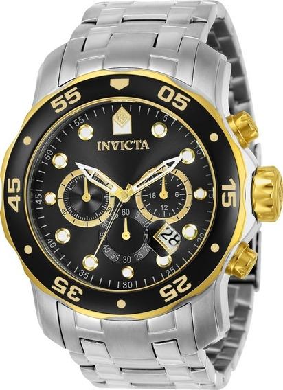 Relógio Invicta 80039 Pro Diver Scuba Chrono Black