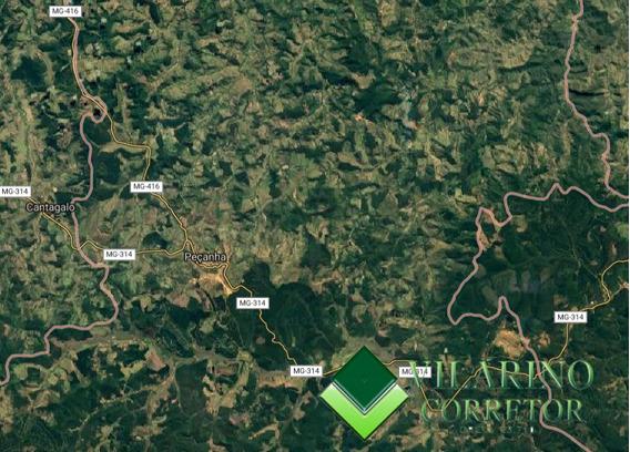Terreno Rural Em Peçanha - 2598
