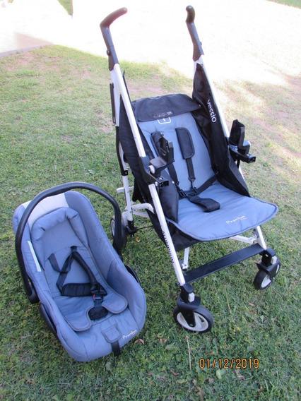 Cochecito Premium Baby Con Huevito + Aluminio