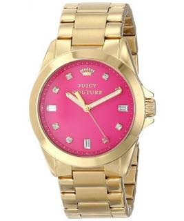 Reloj De Esfera Con Joya De Color Rosa Stella 1901108 Ste
