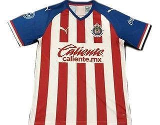 Camisa Chivas Guadalajara Home 19/20 Nova Pronta Entrega