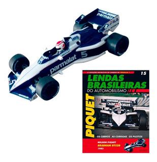 Miniatura Fórmula 1 F1 Nelson Piquet Brabham Bt52b 1983