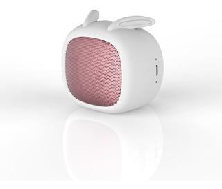 Parlante Portatil Bluetooth Noblex Psb02rabbit Forma Conejo