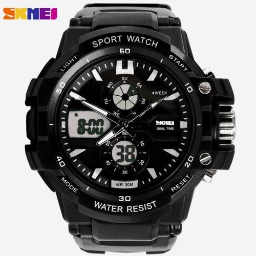 Relógio Skmei 0990 Esportivo Masculino Militar + Brinde