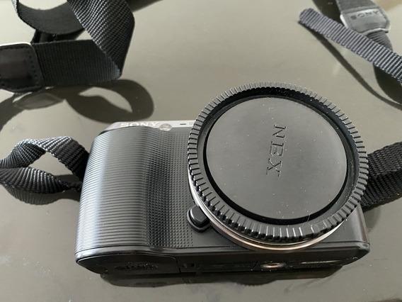 Câmera Sony Nex C3 Muito Nova, Sem Lente