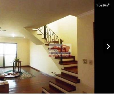 Cobertura Residencial À Venda, Aclimação, São Paulo. - Co0036