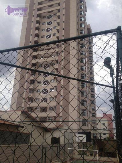 Apartamento Com 2 Dormitórios À Venda, 95 M² Por R$ 500.000 - Campestre - Santo André/sp - Ap0370