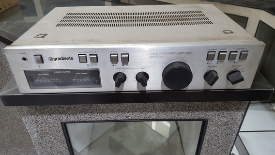 Amplificador Integrado Gradiente Model 126 Old School