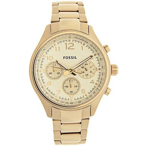 Relógio Fossil Feminino Dourado - Fch2791z