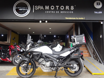 Suzuki Dl 650 Abs - Vstrom 650 Abs Blanca Full