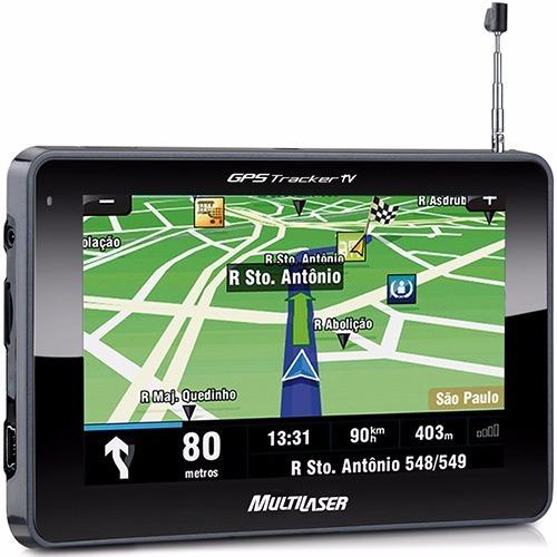 Gps Multilaser Gp012 Tracker 2 Tela 4,3 - Tv Digital