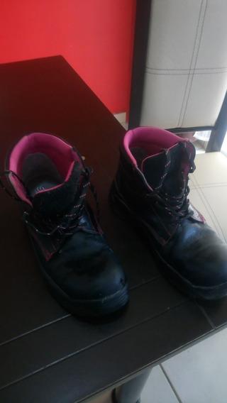 Zapatos Dama Industriales Sicuro Talla 24