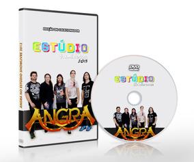 Dvd Angra Ao Vivo Estúdio Showlivre 2013