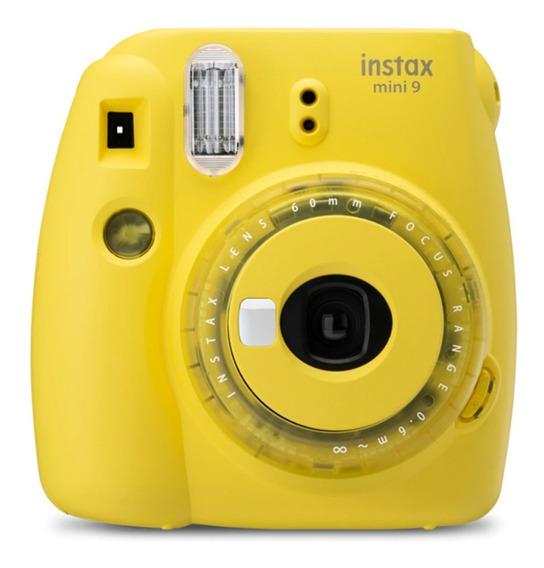 Fujifilm Instax Mini 9 Yellow Polaroid Camara Polaroid