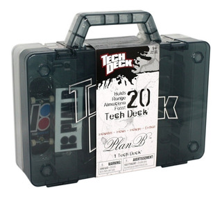 Tech Deck Set Portable Para Guardar 20 Skate Con 1 Skate