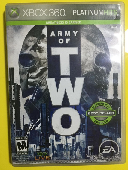 Army Of Two Xbox 360 Midia Fisica