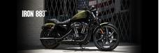 Moto Harley Davidson 883 Iron Sportster Custom Pouco Rodada