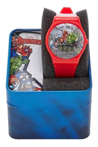 Reloj Niño Avengers Digital Jelly 100% Original
