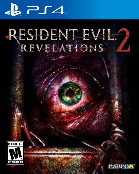 Game Ps4 Resident Evil Revelations 2 - Original - Novo