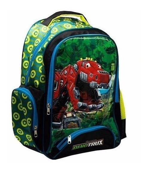 :* Mochila Escolar Dinotrux Original :* Primaria